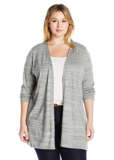 Calvin Klein Women's Plus Size L/s Duster Sweater