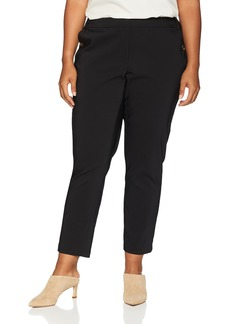 Calvin Klein Women's Plus Size Pant with Pocket Buttons