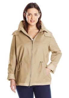 Calvin Klein Women's Plus Size Reversible Jacket