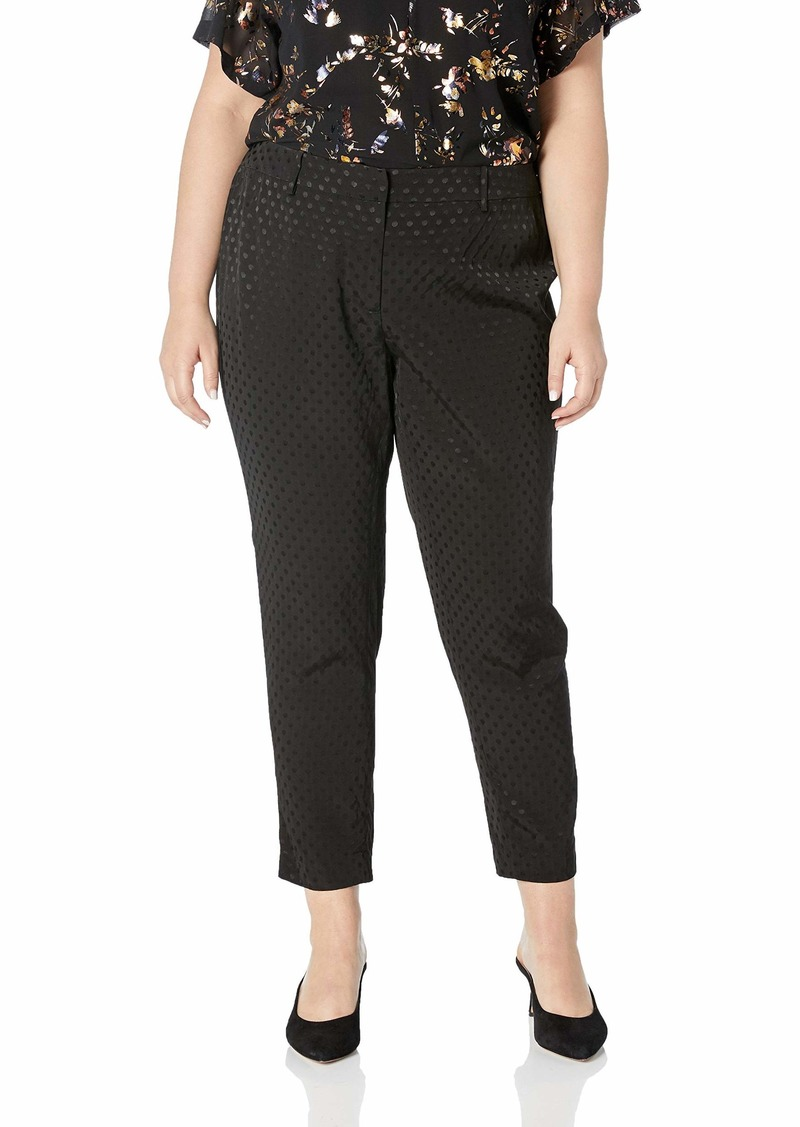 Calvin Klein Women's Plus Size Soft Suiting Pant