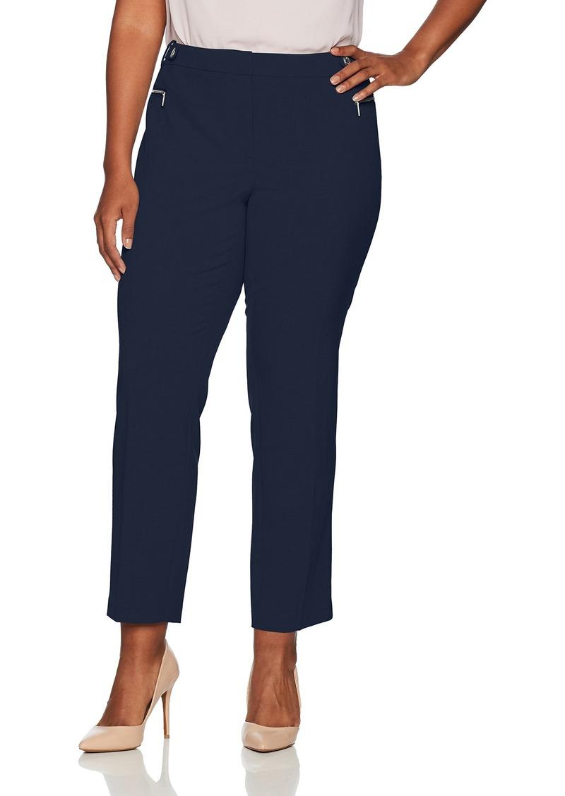 3e471c44692d5 Calvin Klein Calvin Klein Women s Plus Size Straight Pant with ...