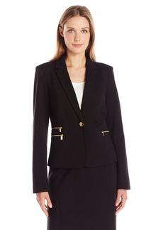 Calvin Klein Women's Ponte Jacket