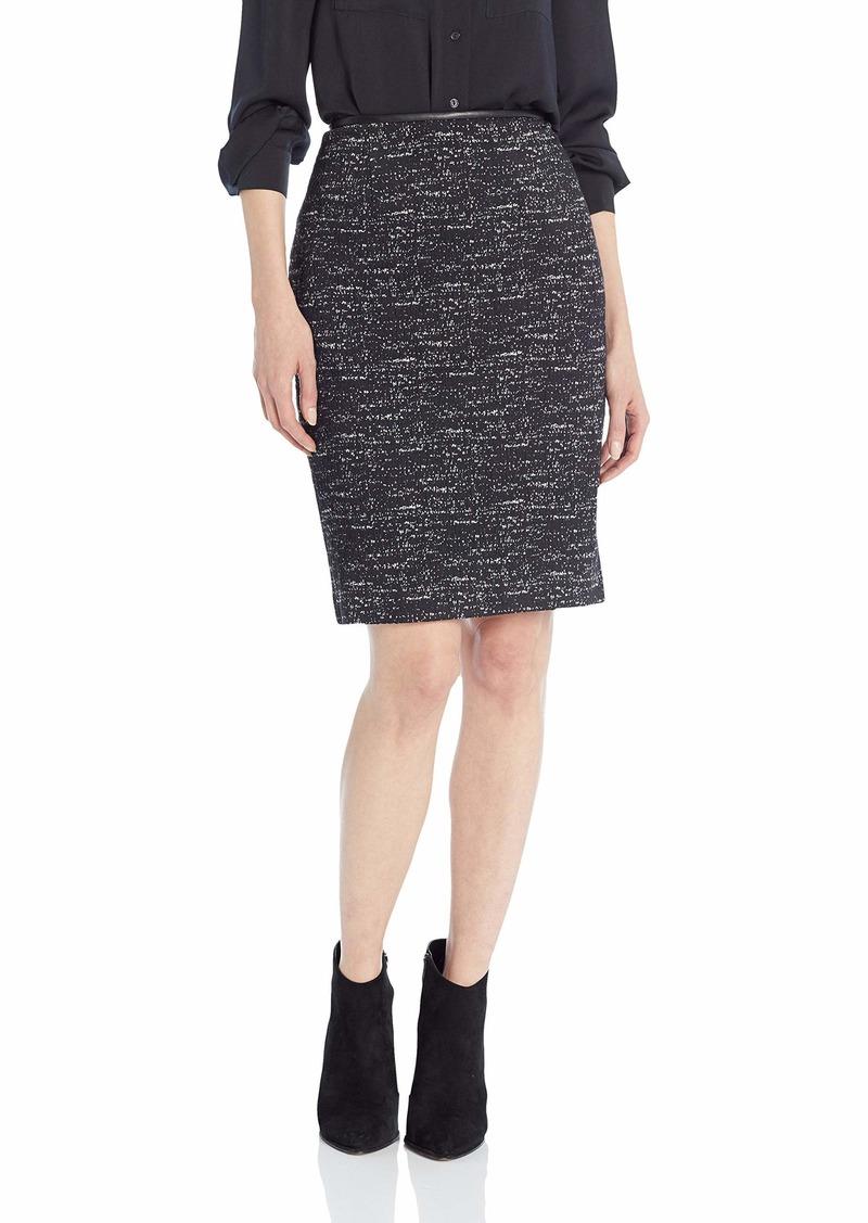 Calvin Klein Women's Ponte Printed Skirt