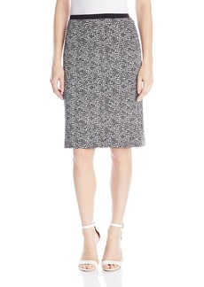 Calvin Klein Women's Print Scuba Pencil Skirt