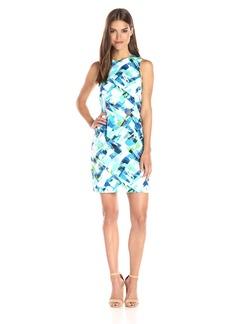Calvin Klein Women's Printed Mod Dress