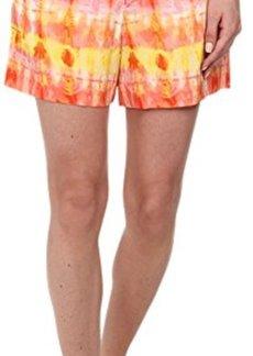 Calvin Klein Women's Printed Woven Shorts