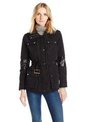 Calvin Klein Women's Quilted Jacket with Belt  S