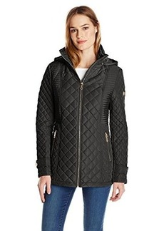 Calvin Klein Women's Quilted Jacket with Hood