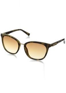 Calvin Klein Women's R732S Square Sunglasses