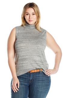 Calvin Klein Women's Racer Turtleneck Sweater  XL