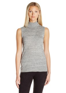 Calvin Klein Women's Racer Turtleneck Sweater  XS