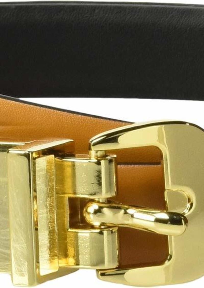 Calvin Klein Women's Reversible Belt Vachetta/black XL