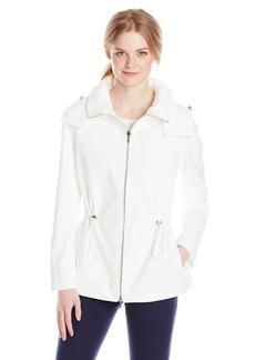 Calvin Klein Women's Reversible Short Anorak Jacket  Large