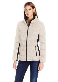 Calvin Klein Women's Rib Collar Puffer Jacket  S