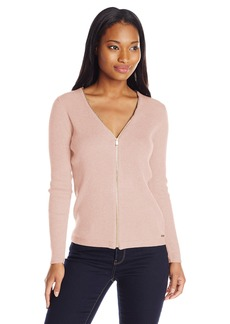 Calvin Klein Women's Ribbed Cardigan  L