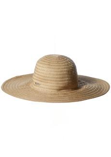 Calvin Klein Women's Ribbon Sun Hat with Lurex Straw
