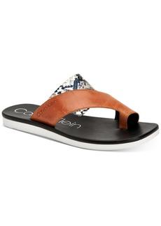 Calvin Klein Women's Rini Flat Sandals Women's Shoes