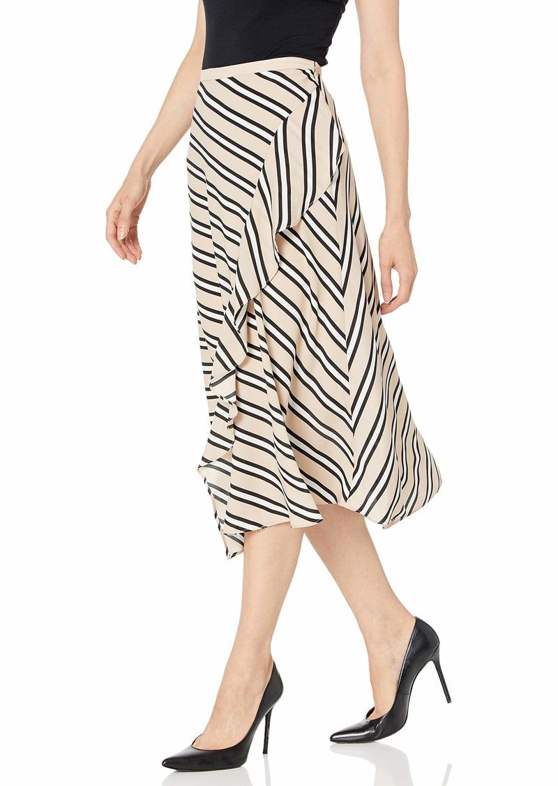 Calvin Klein Women's Ruffle Front Skirt