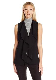 Calvin Klein Women's Ruffle Front Vest