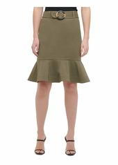 Calvin Klein Women Ruffle Skirt