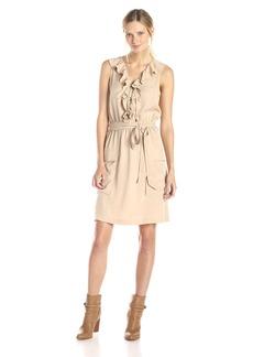 Calvin Klein Women's Ruffle Top Dress