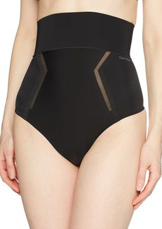 Calvin Klein Women's Sculpted High Waist Thong