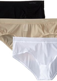 Calvin Klein Women's Second Skin Hipster 3 Pack Panty