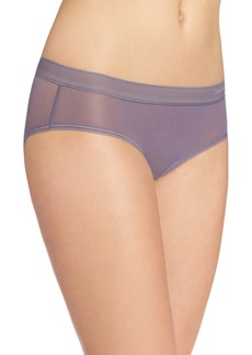 Calvin Klein Women's Second Skin Hipster Panty