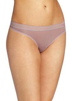 Calvin Klein Women's Second Skin Thong Panty