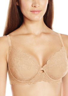 Calvin Klein Women's Seductive Comfort Unlined Lace Bra