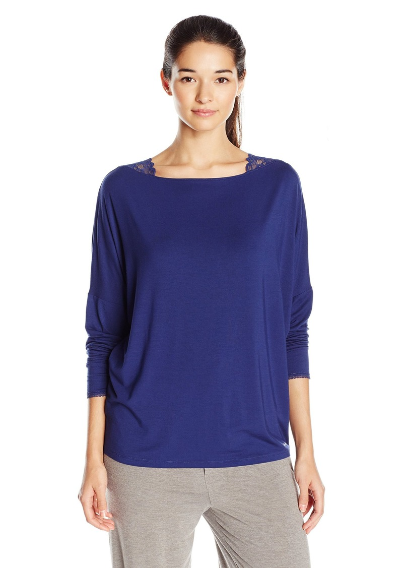 Calvin Klein Calvin Klein Women s Seductive Comfort Long Sleeve ... 8c21890adaf7
