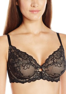 Calvin Klein Women's Seductive Comfort Unlined Lace Bra  36B