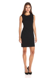 Calvin Klein Women's Sheath Dress with Starburst Detail