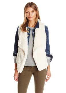 Calvin Klein Women's Short Hair Faux Fur Vest