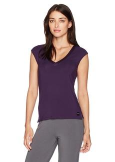 Calvin Klein Women's Short Sleeve Dolman PJ Top  S