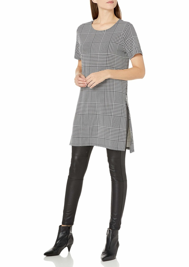Calvin Klein Women's Short Sleeve Long Tunic