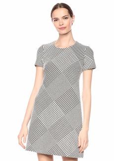 Calvin Klein Women's Short Sleeve Shift Dress