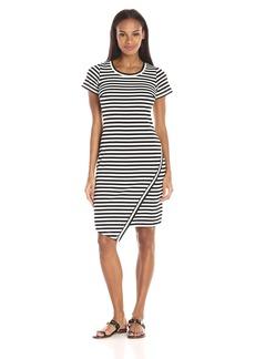 Calvin Klein Women's Short Sleeve Stripe Dress