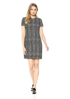 Calvin Klein Women's Short Sleeves Shift Dress