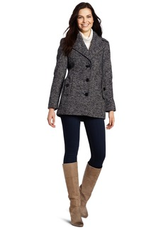 Calvin Klein Women's Single Breasted Wool Coat