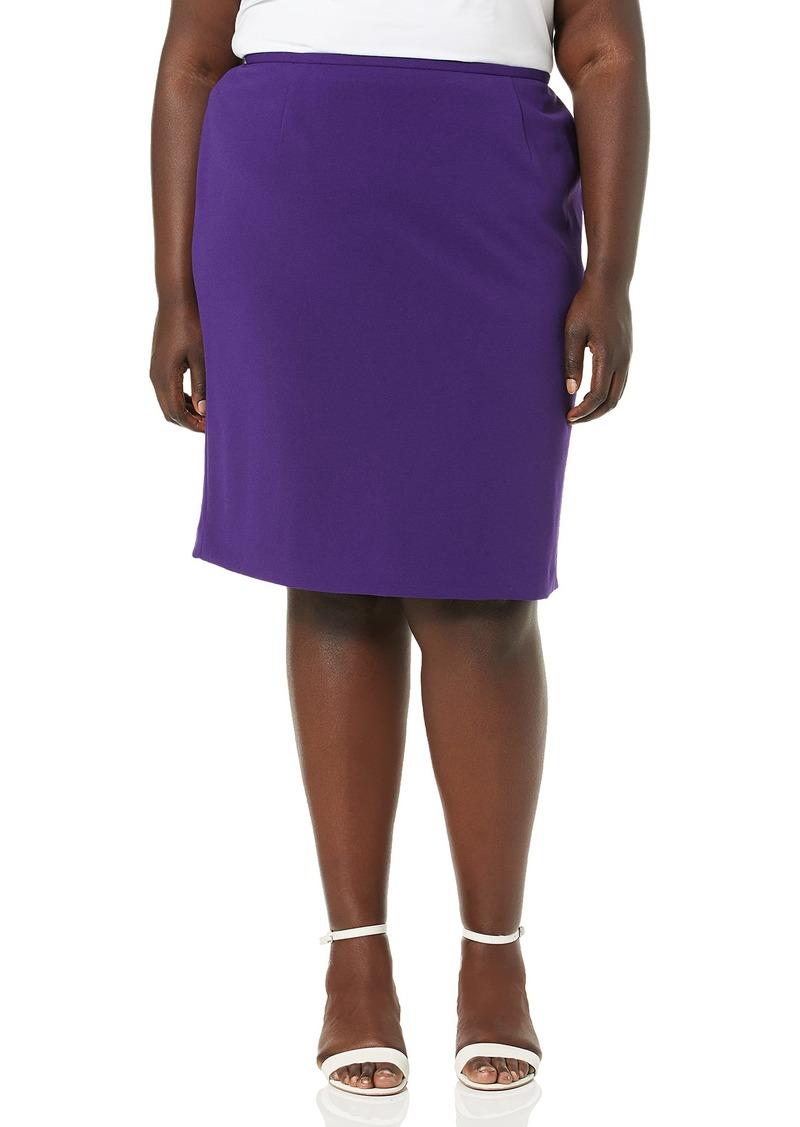 Calvin Klein Women's Size Scuba Crepe Skirt