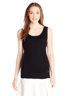 Calvin Klein Women's S/l Open Stitch Sweater