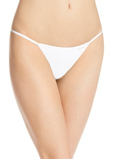 Calvin Klein Women's Sleek Model Thong Panty