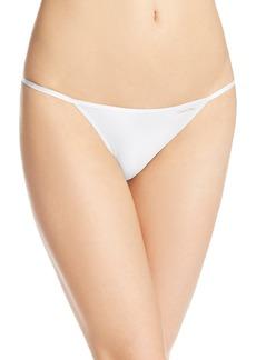 Calvin Klein Women's Sleek String Bikini Panty