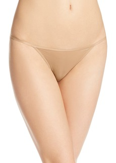 Calvin Klein Women's Sleek String Bikini Panty
