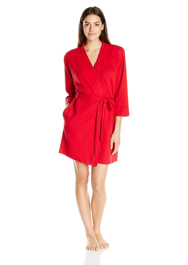 Women S Sleepwear Quilted Robe Medium