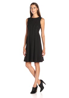 Calvin Klein Women's Sleeveless Fit and Flare Dress