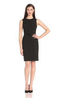 Calvin Klein Women's Sleeveless Belted Dress