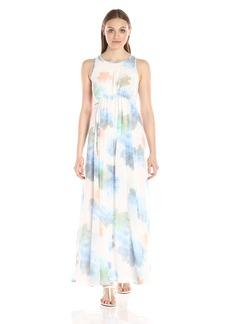 Calvin Klein Women's Sleeveless Chiffon Maxi