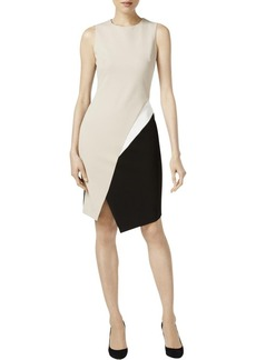 Calvin Klein Women's Sleeveless Color Block Dress